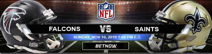 Atlanta Falcons vs New Orleans Saints 11-10-2019 Previews, Spread and Picks