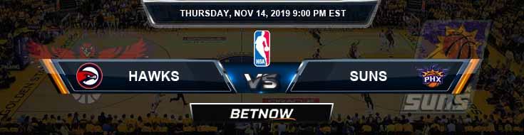 Atlanta Hawks vs Phoenix Suns 11-14-2019 NBA Spread and Game Analysis