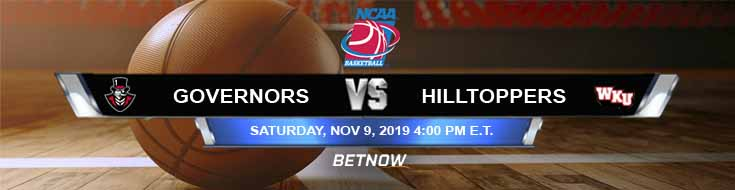 Austin Peay Governors vs Western Kentucky Hilltoppers 11-09-2019 Previews, Game Analysis and Spread