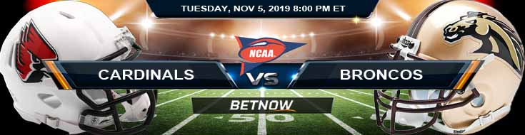 Ball State Cardinals vs Western Michigan Broncos 11052019 Spread, Odds and Game Analysis