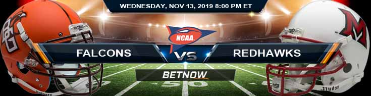 Bowling Green Falcons vs Miami (OH) Redhawks 11-13-2019 Picks Predictions and Previews