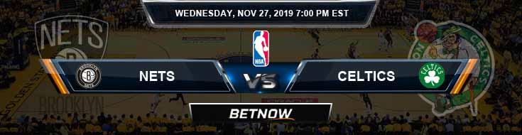 Brooklyn Nets vs Boston Celtics 11-27-2019 Spread Picks and Previews