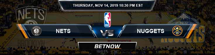 Brooklyn Nets vs Denver Nuggets 11-14-2019 NBA Spread and Game Analysis