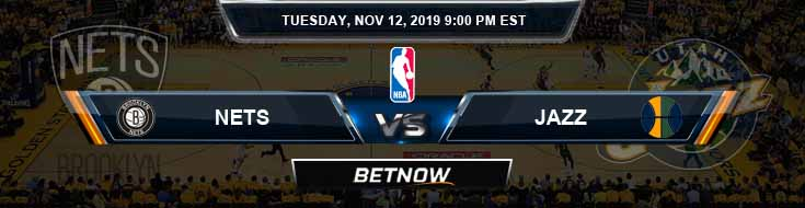 Brooklyn Nets vs Utah Jazz 11-12-2019 NBA Odds and Game Analysis