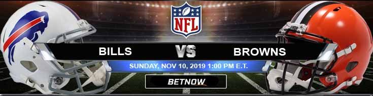 Buffalo Bills vs Cleveland Browns 11-10-2019 Previews Picks and Spread