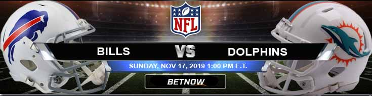 Buffalo Bills vs Miami Dolphins 11-17-2019 Game Analysis Spread and Odds