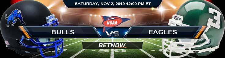 Buffalo Bulls vs Eastern Michigan Eagles 11-02-2019 Picks Spread and Previews