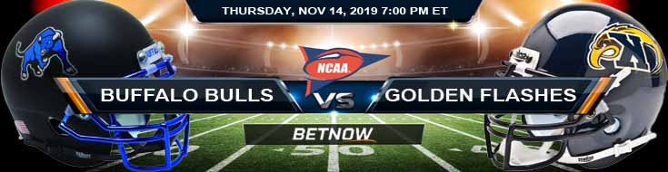 Buffalo Bulls vs Kent State Golden Flashes 11-14-2019 Picks Predictions and Previews