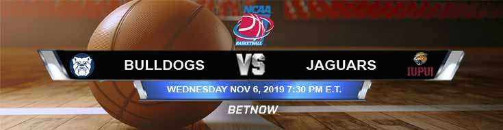 Butler Bulldogs vs IUPUI Jaguars 11-06-2019 Predictions Picks and Spread