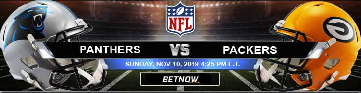 Carolina Panthers vs Green Bay Packers 11-10-2019 Game Analysis Prediction and Odds