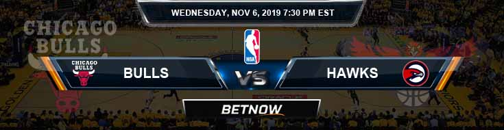 Chicago Bulls vs Atlanta Hawks 11-06-2019 NBA Picks and Game Analysis
