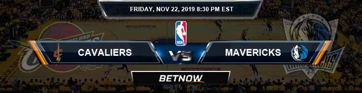 Cleveland Cavaliers vs Dallas Mavericks 11-22-2019 NBA Spread and Picks (2)