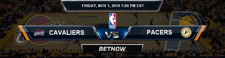 Cleveland Cavaliers vs Indiana Pacers 11-01-2019 Spread Picks and Previews