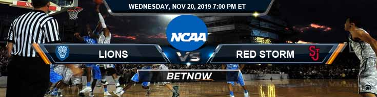 Columbia Lions vs St. John's Red Storm 11-20-2019 Predictions Picks and Preview