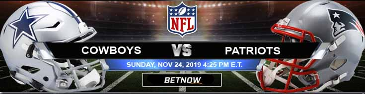 Dallas Cowboys vs New England Patriots 11-24-2019 Spread Predictions and Game Analysis