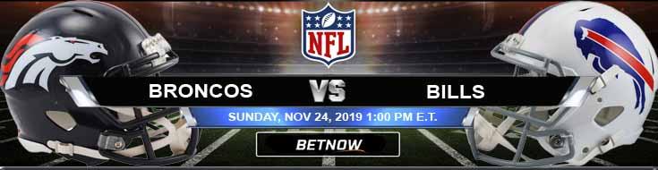 Denver Broncos vs Buffalo Bills 11-24-2019 Odds Picks and Predictions