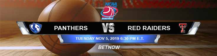 Eastern Illinois Panthers vs Texas Tech Red Raiders 11-05-2019 Preview Picks and Predictions