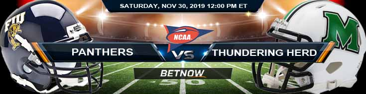 FIU Panthers vs Marshall Thundering Herd 11-30-2019 Football Betting Site Picks and Game Analysis