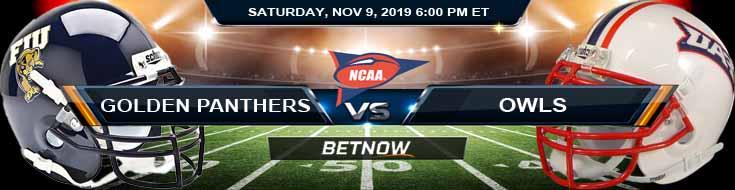 Florida International Golden Panthers vs Florida Atlantic Owls 11-09-2019 Game Analysis Picks and Spread