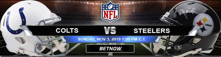 Indianapolis Colts vs Pittsburgh Steelers 11-03-2019 Game Analysis Picks and Odds