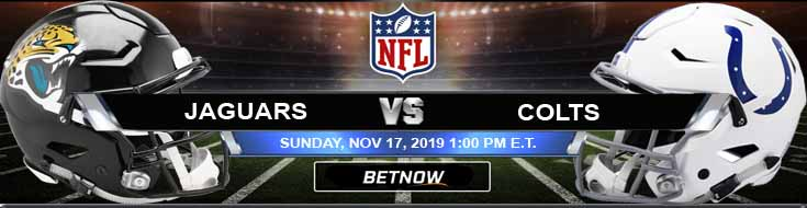 Jacksonville Jaguars vs Indianapolis Colts 11-17-2019 Picks Predictions and Previews