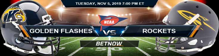 Kent State Golden Flashes vs Toledo Rockets 11-05-2019 Picks Predictions and Previews