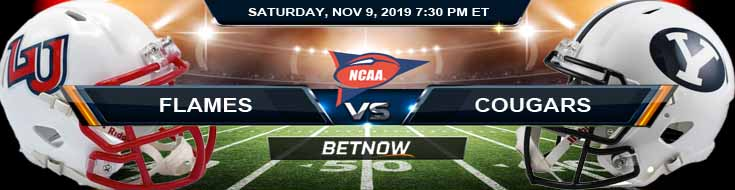 Liberty Flames vs BYU Cougars 11-09-2019 Game Analysis Predictions and Preview