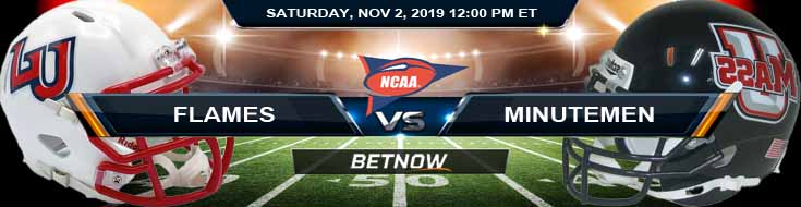 Liberty Flames vs Massachusetts Minutemen 11-02-2019 Previews Odds and Prediction