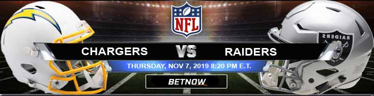 Los Angeles Chargers vs Oakland Raiders 11-07-2019 Picks Predictions and Previews