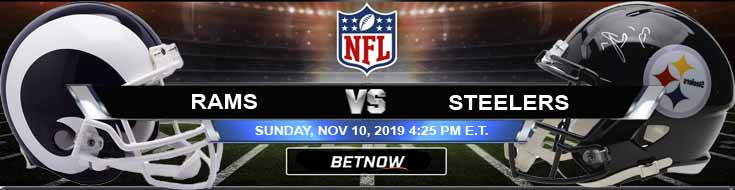 Los Angeles Rams vs Pittsburgh Steelers 11-10-2019 Predictions Game Analysis and Odds
