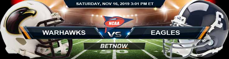 Louisiana Monroe Warhawks vs Georgia Southern Eagles 11-16-2019 Picks Odds and Predictions