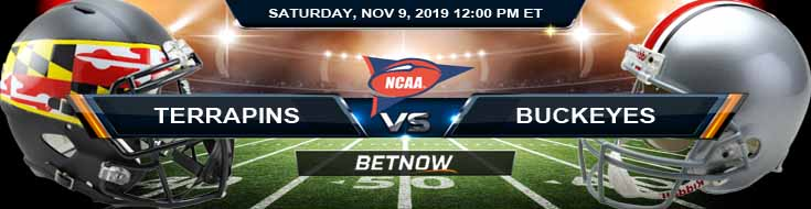 Maryland Terrapins vs Ohio State Buckeyes 11-09-2019 Spread Picks and Predictions