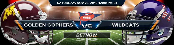 Minnesota Golden Gophers vs Northwestern Wildcats 11-23-2019 Picks Game Analysis and Odds