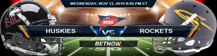 NIU Huskies vs Toledo Rockets 11-13-2019 Spread Odds and Game Analysis