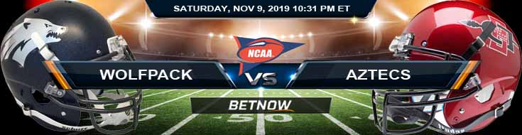 Nevada Wolfpack vs San Diego State Aztecs 11-09-2019 Picks Odds and Game Analysis
