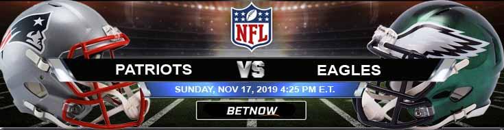 New England Patriots vs Philadelphia Eagles 11-17-2019 Picks Odds and Game Analysis