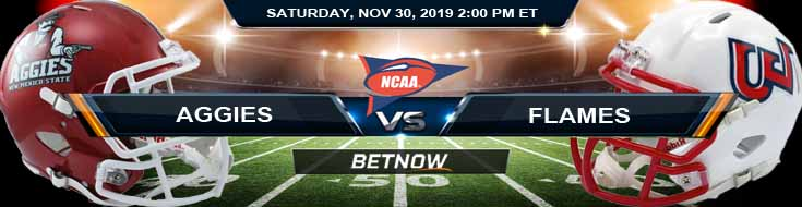 New Mexico State Aggies vs Liberty Flames 11-30-2019 Preview Predictions and Picks