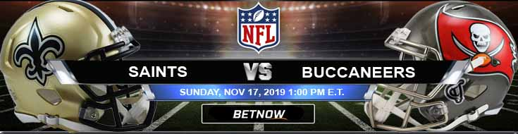 New Orleans Saints vs Tampa Bay Buccaneers 11-17-2019 Picks Game Analysis and Previews