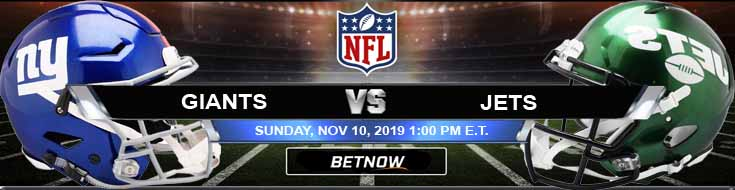 New York Giants vs New York Jets 11-10-2019 Spread Picks and Game Analysis