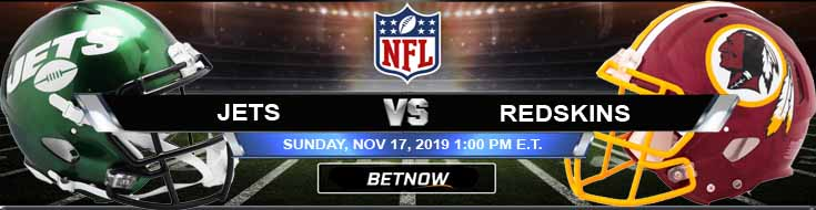 New York Jets vs Washington Redskins 11-17-2019 Picks Predictions and Previews