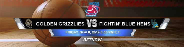 Oakland Golden Grizzlies vs Delaware Fightin' Blue Hens 11-08-2019 Spread Odds and Picks