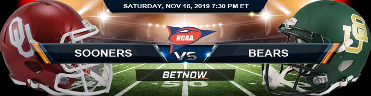 Oklahoma Sooners vs Baylor Bears 11-16-2019 Picks Predictions and Game Analysis