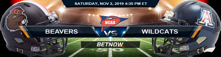 Oregon State Beavers vs Arizona Wildcats 11-02-2019 Odds Picks and Game Analysis