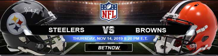 Pittsburgh Steelers vs Cleveland Browns 11-14-2019 Picks, Predictions and Previews