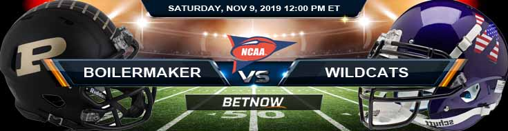 Purdue Boilermakers vs Northwestern Wildcats 11-09-2019 Previews Odds and Game Analysis