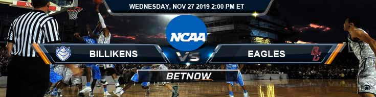 Saint Louis Billikens vs Boston College Eagles 11-27-2019 Game Analysis and Odds