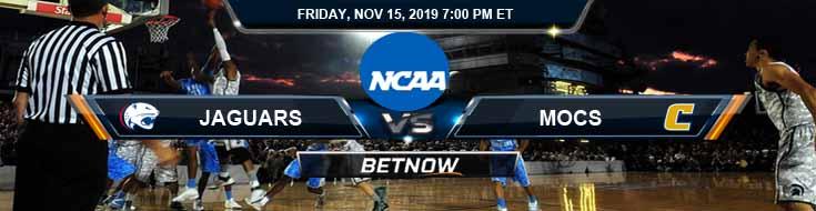 South Alabama Jaguars vs Chattanooga Mocs 11-15-2019 Picks Predictions and Odds