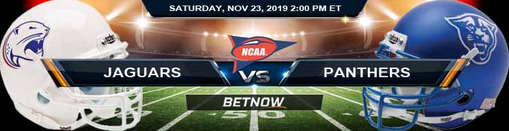 South Alabama Jaguars vs Georgia State Panthers 11-23-2019 Picks Predictions and Game Analysis