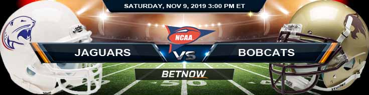 South Alabama Jaguars vs Texas State Bobcats 11-09-2019 Odds Game Analysis and Predictions