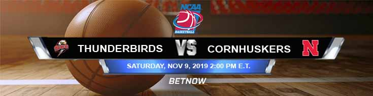 Southern Utah Thunderbirds vs Nebraska Cornhuskers 11-09-2019 Game Analysis Picks and Predictions